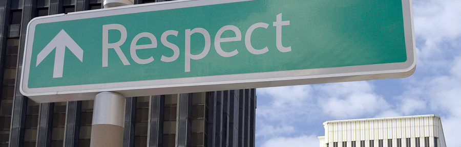 Respect & Rapport… starts with us!