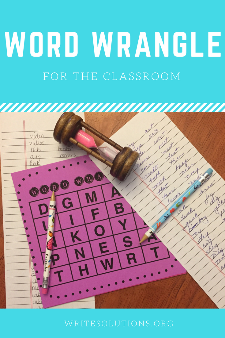 Classroom Word Game